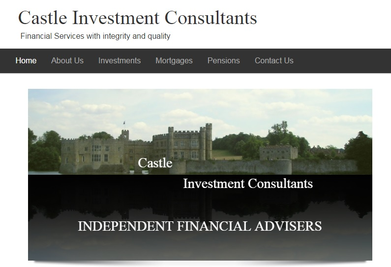 Financial Advisers website design