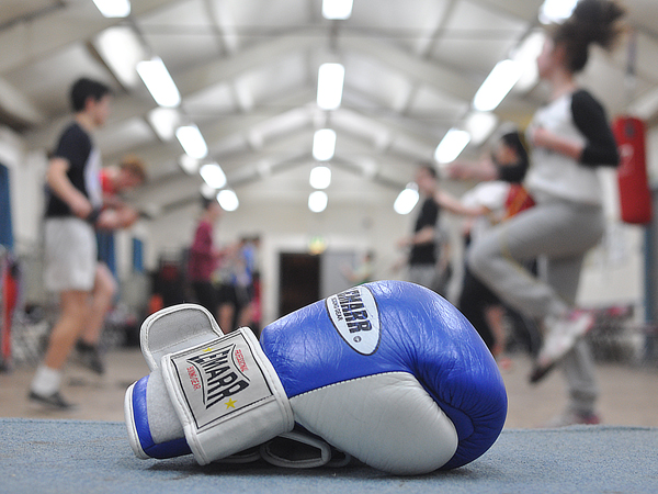 Boxing club website design