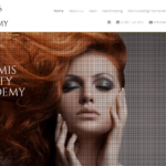 New Bath Beauty Salon and Academy website