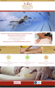 London Osteopath Website